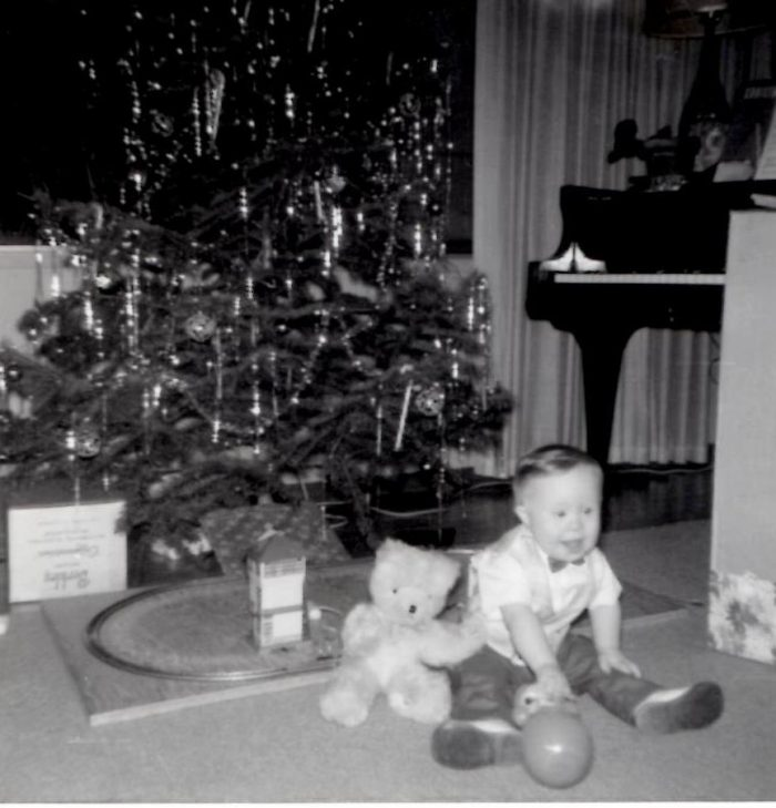 Christmas 1964 One year old