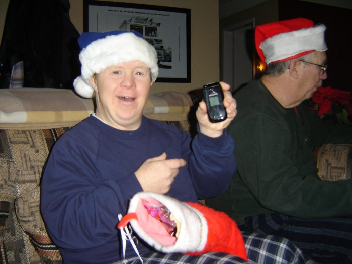 2009 New cell phone for Christmas