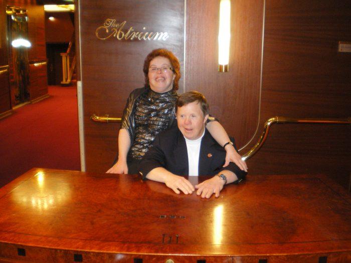 2010 Ken & Emily on cruise